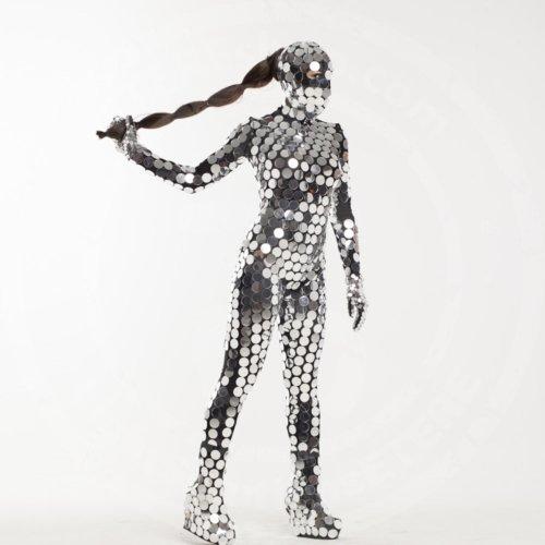 Dance mirror costume