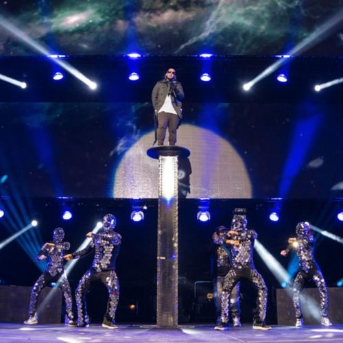 """MIRROR COSTUMES FOR """"DYCREW"""" – MADISON SQUARE GARDEN DADDY YANKEE 2015, NEW YORK"""