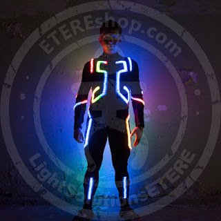 SMART LED flyboard suit model MOTUS