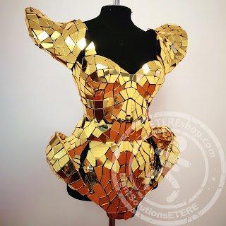 Golden dress 6