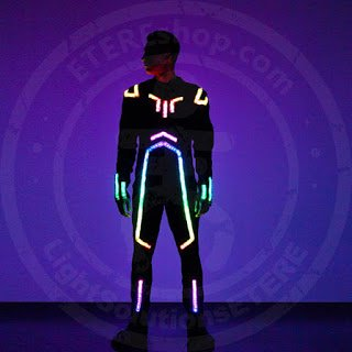 SMART LED flyboard suit model LENTULUS
