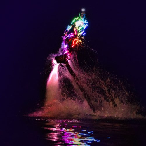 Flyboard and water show costumes